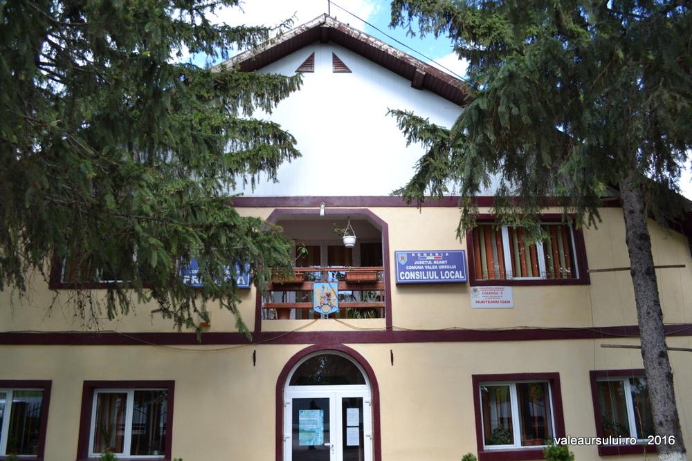 Sediul Primariei Comunei Valea Ursului